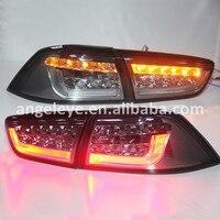 2008 2013 год Lancer Exceed светодиодные задние лампы светодиодные Фонарь дым черный Цвет
