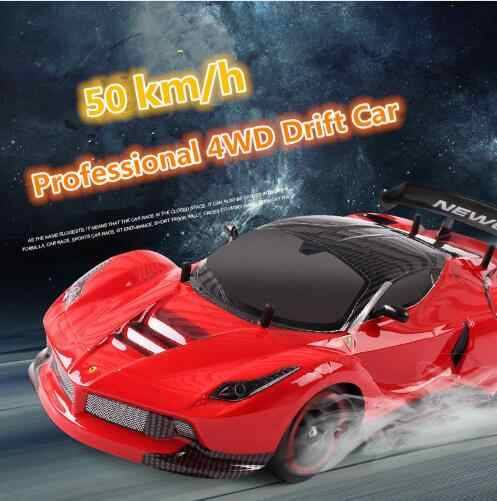 RC รถ 4WD Drift Racing Car Championship 2.4G Off แผนที่วิทยุรีโมทคอนโทรลอิเล็กทรอนิกส์ Hobby ของเล่น