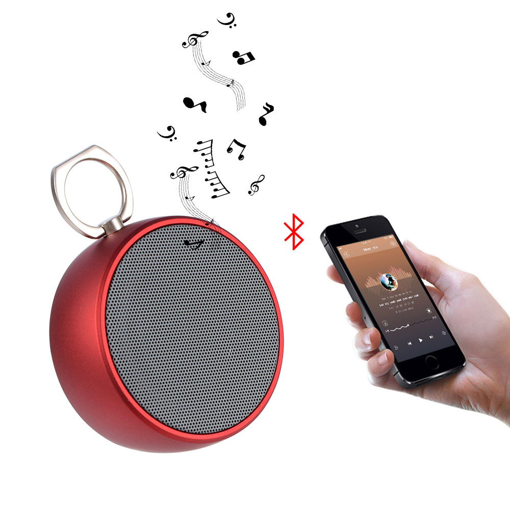 Wireless Mini Sound Box Loudspeakers Portable Speaker Bluetooth Stereo Speaker Player Outdoor For Xiaomi Audio Amplifier For PC