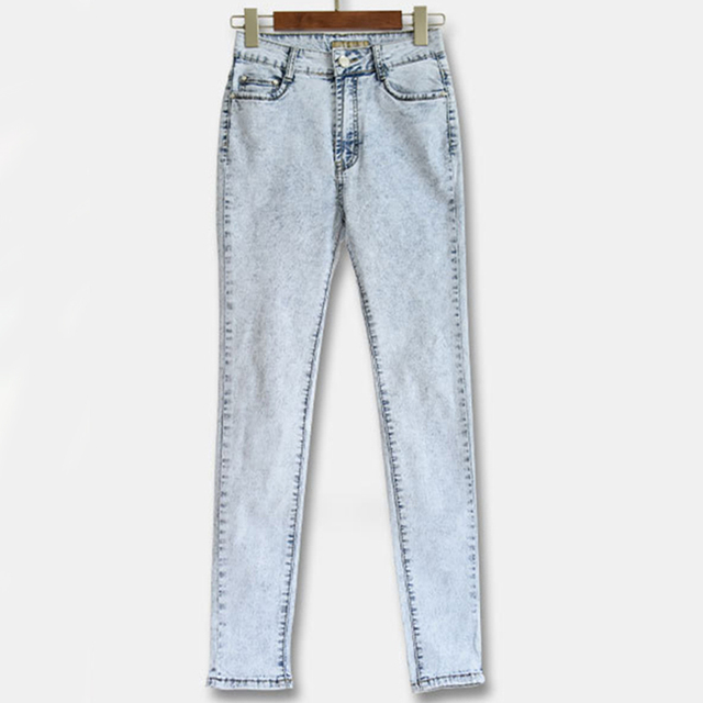 50178d30b Ultra-stretch Snowflake Jeans 2015 Women High Waist Skinny Jean Pants  Pencil Pantalones Vaqueros Mujer High Quality Ladies Jeans