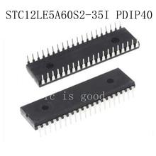5PCS STC12LE5A60S2-35I PDIP4 STC12LE5A60S2-35I PDIP40