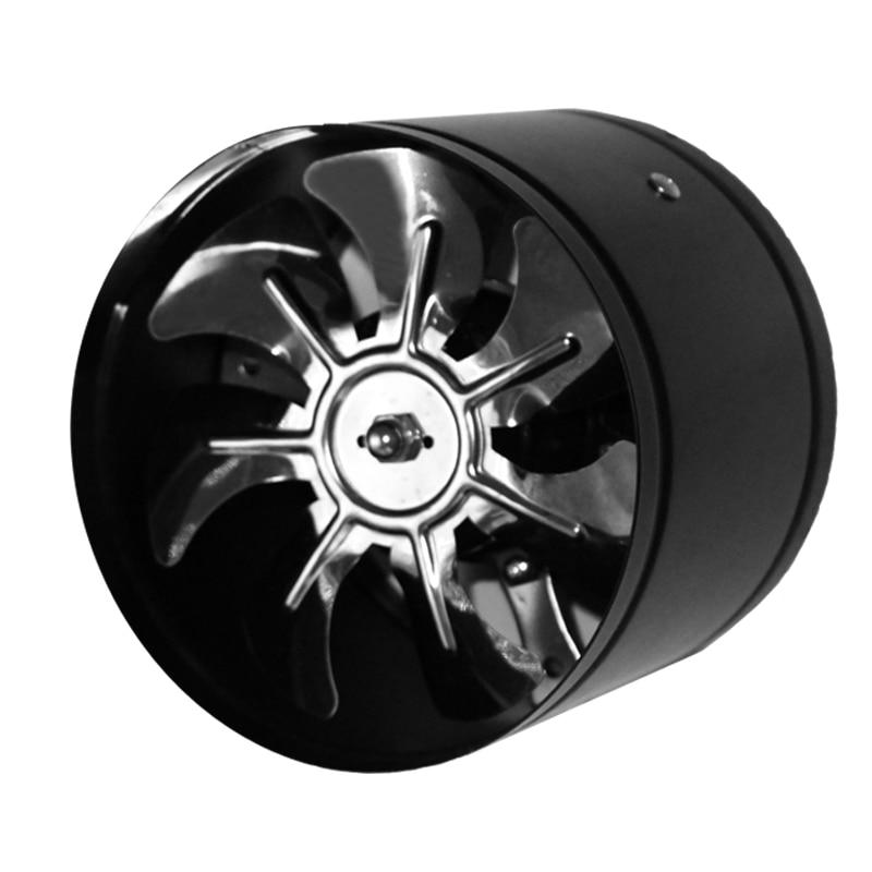 6 inch pipeline fan booster fan inline duct fan high speed metal fan 150mm цена