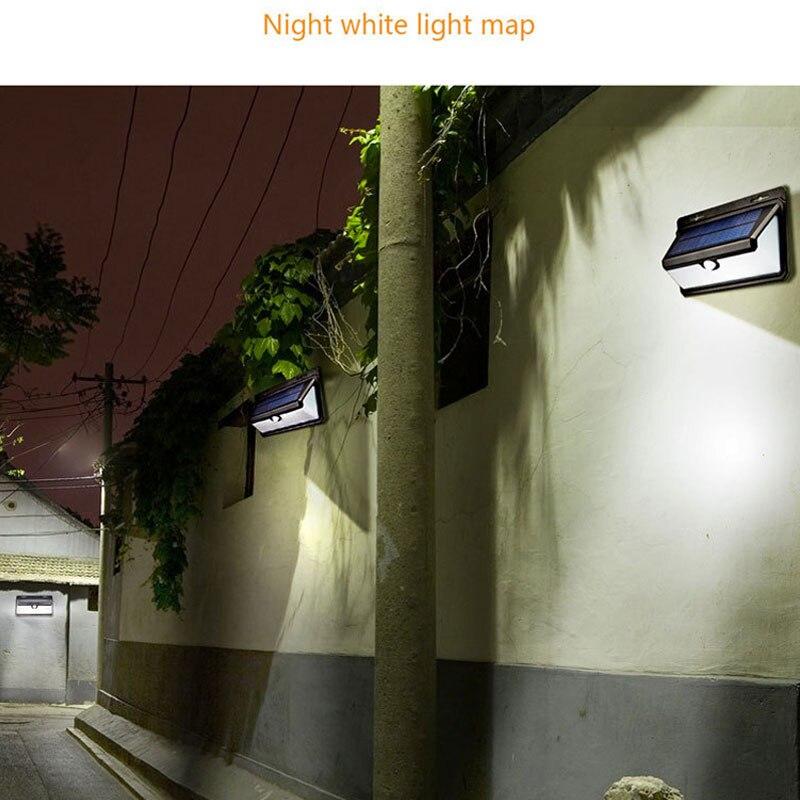Светодиодный Светодиодный Солнечный пламенный настенный светильник для человеческого тела индукционный PIR настенный светильник Открытый водостойкий имитирующий пламенный свет 35