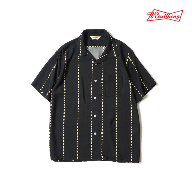 ¡Lea la descripción! Camisa de rayón con estilo para hombre de talla asiática vintage - 2