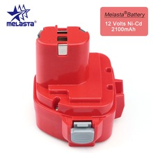 MELASTA 12v NiCd 2100mAh Battery Replacement Battery for Makita 1220 PA12 1222 1233S 1233SA 1233SB 1235 1235A 1235B 192598-2
