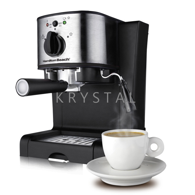 40791-CN Italian Coffee Maker Espresso Coffee Machine 15 Bar Cream Coffee Automatic High-Pressure Steam Milk Bubble automatic espresso coffee maker coffee machine high pressure steam espresso machine milk bubble machine
