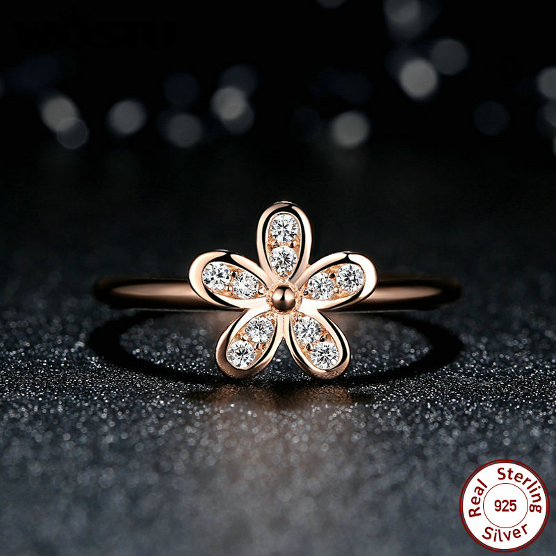 gold daisy accessories style rose wedding rings ring dazzling