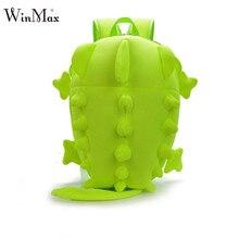 Creative Kids 3D Animal Backpack Dinosaur Shape Children Primary Cartoon School Bags