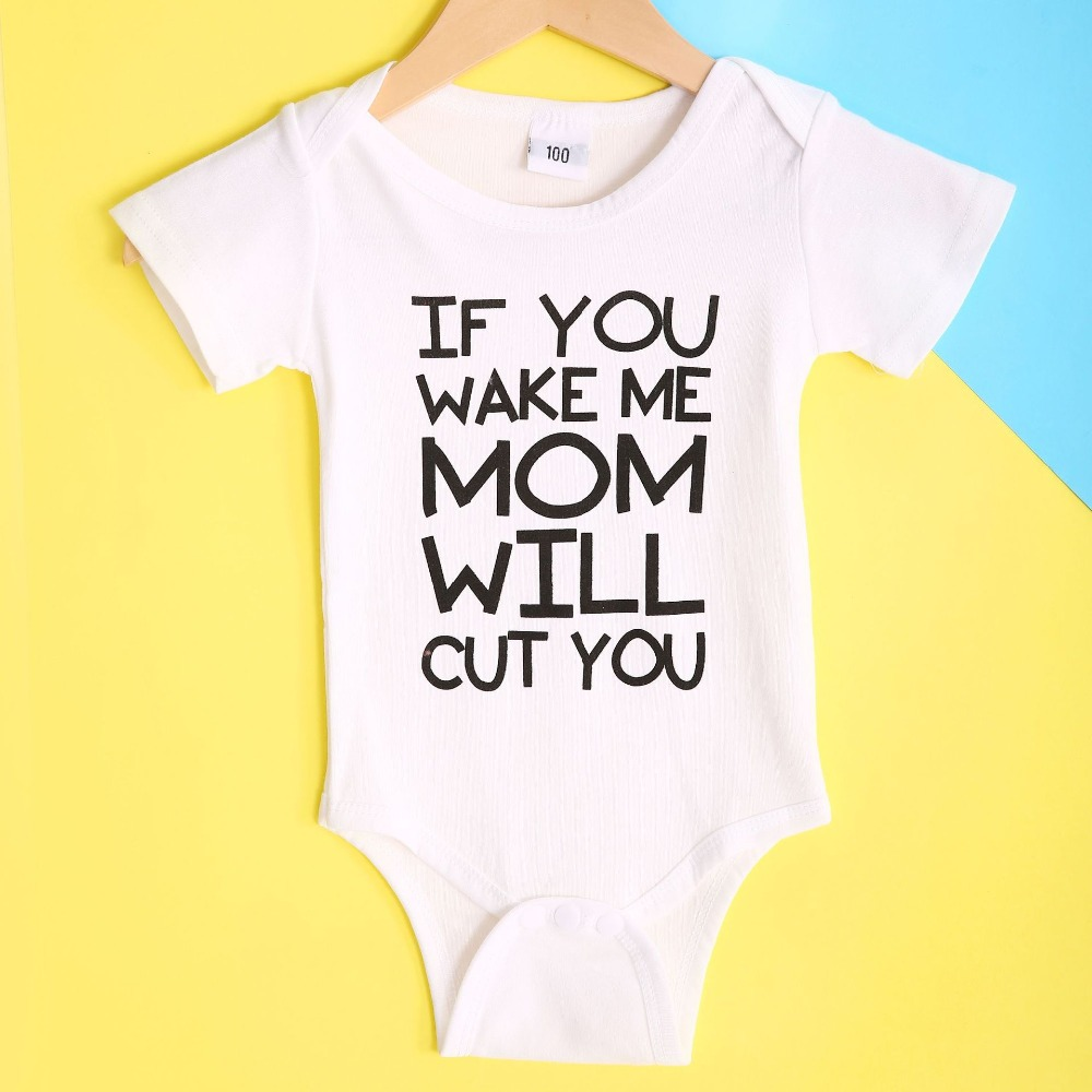 Baby Romper Wake Me When its 2020 100/% Cotton Long Sleeve Infant Bodysuit