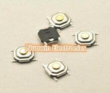 Бесплатная доставка 100 ШТ. 4*4*1.5 мм 4x4x1.5 мм SMD кнопочный переключатель микровыключатель Switch такт