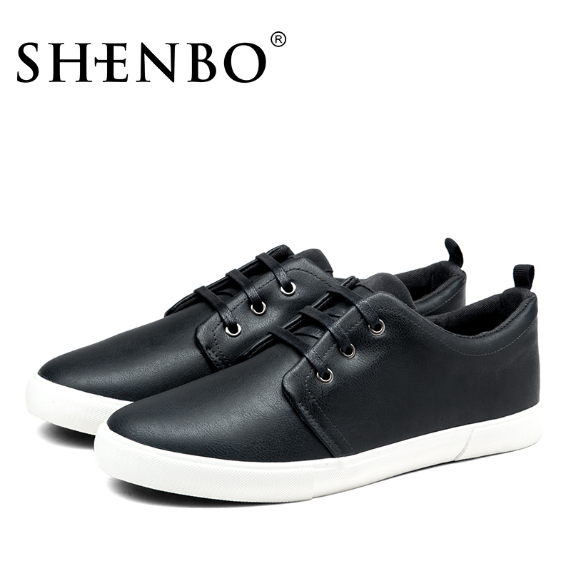 shenbo brand new arrive men casual shoes sample black men shoes high quality men shoes