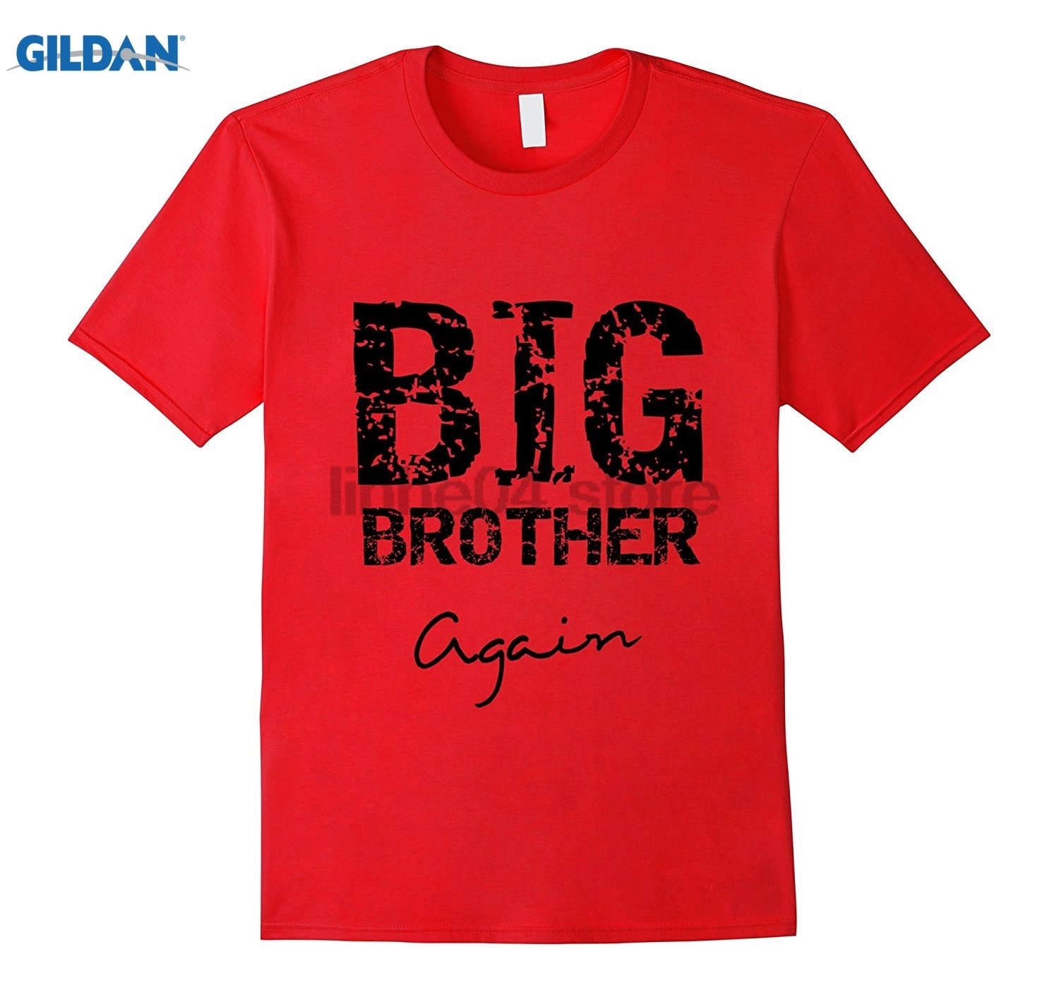 GILDAN Big Brother Again T Shirt for Kids and Youth Mothers Day Ms. T-shirt Dress female T-shirt Womens T-shirt