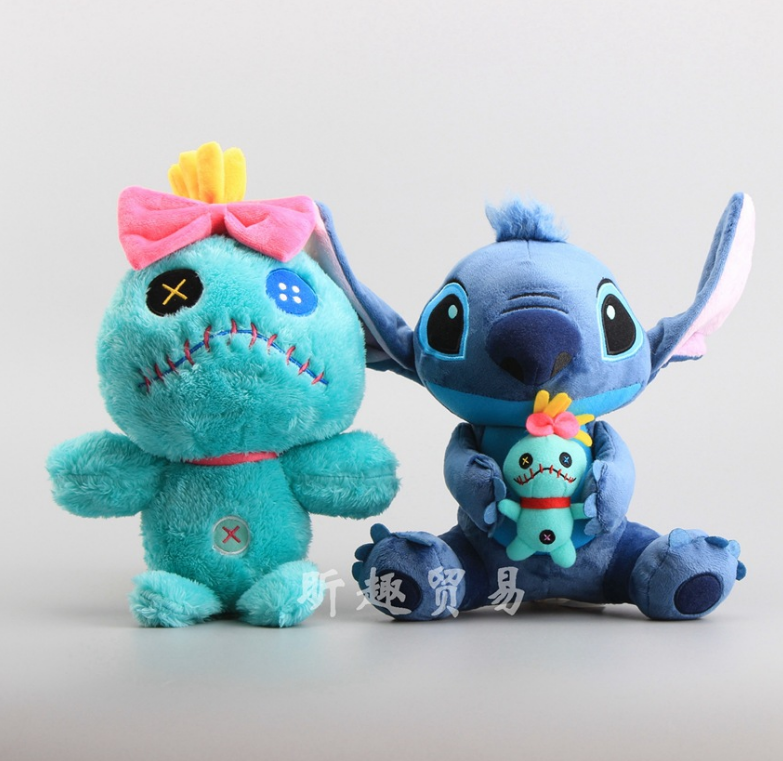 Dynamic 1pcs Kawaii Stitch Plush Doll Toys Big Lilo And Stitch Stich Plush Toy Scrump Soft Stuffed Toys Doll Children Kids Gift 044 And Digestion Helping Stuffed & Plush Animals Toys & Hobbies