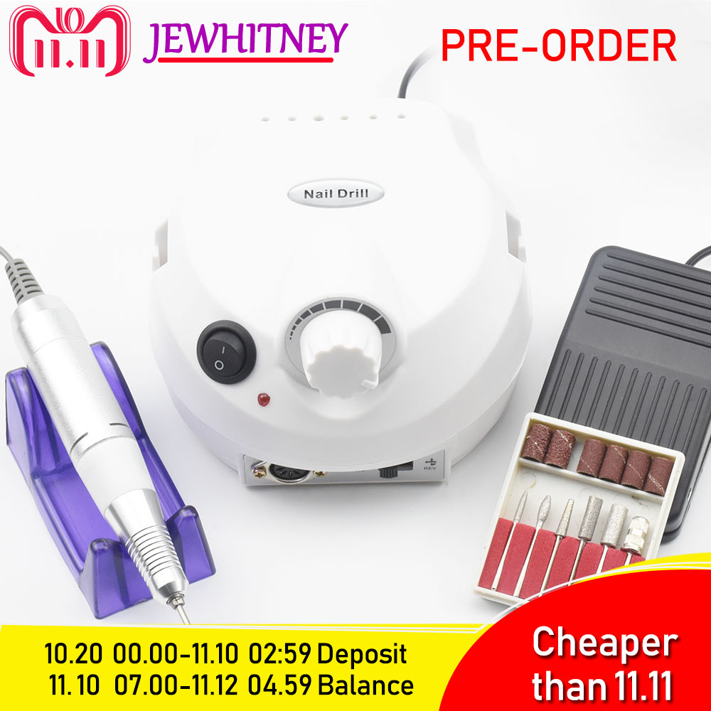 30000RPM Pro Electric Nail Drill Machine Electric Manicure Machine Drills Accessory Pedicure Kit Nail Drill File Bit Nail Tools цена