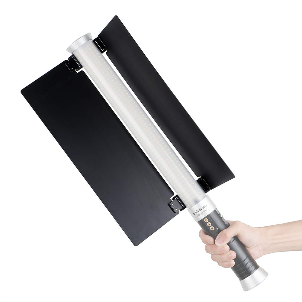 Portable Handheld LED Light Photography Barn Door For Handheld Tube ICE Led Video Camera Photo Light