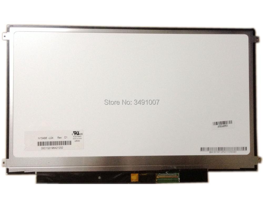 N134B6-L04 fit LTN134AT01 LTN134AT02 13.4 inch Slim LCD SCREEN PANEL gf go7300 b n a3 gf go7400 b n a3