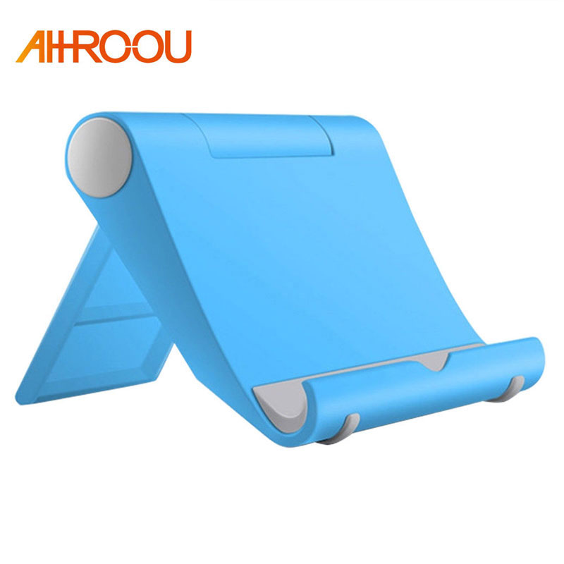 AHROOU Adjustable Angle Tablet Stand For iPad 2/3/4 iPad Air 1/2 Tablet Holder For Samsung Xiaomi Phone Stand