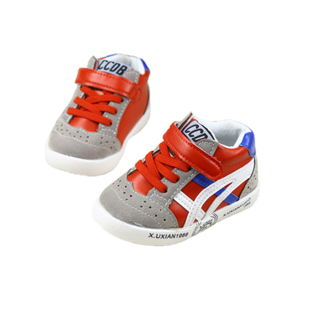 Lindo bebé causal shoes classic transpirable deporte ocio sneaker shoes para 1-3yrs bebé recién nacido infantil del niño de prewalker shoes