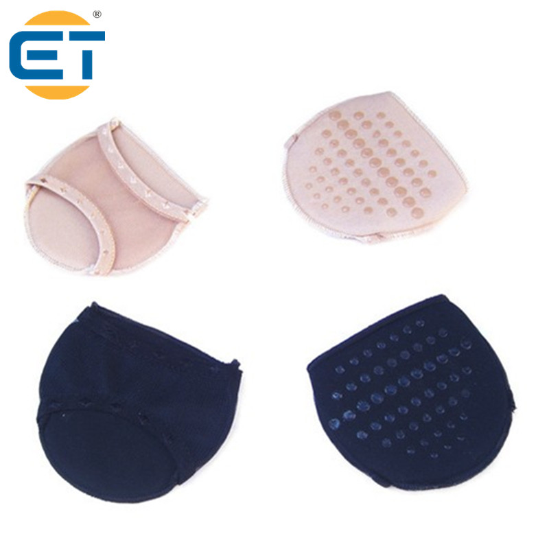 4 pairs Half Code Cushion Pad High Heels Foot Protecting Pad Thickening Anti-slips Shoes Half Insoles 4 pairs half code cushion pad high heels foot protecting pad thickening anti slips shoes half insoles