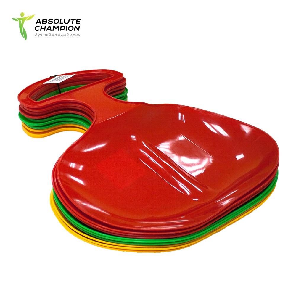 Lediankka plastic S2.1 105 gramm - sleigh for slides for children Absolute Champion все цены