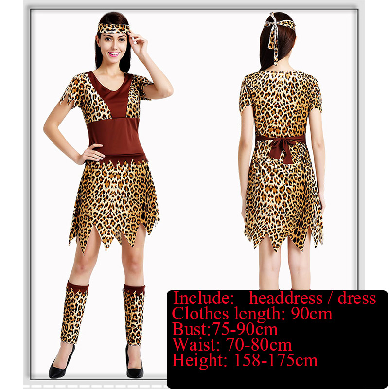 Savage fuzhuang adult men and font b women b font savage costumes African savage hunters tribal