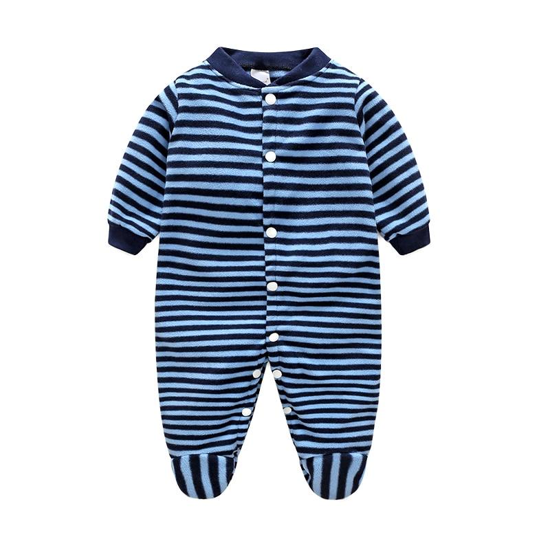 Unisex Baby Romper Winter Cartoon Baby Clothes One Pieces Autumn Newborn Clothes