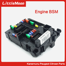 цена на Brand New Genuine Fuse Box Unit Assembly Under Bonnet 9657608580 BSM B5 For Lancia Phedra Fiat Ulysse Citroen C8 Peugeot 307 807