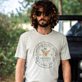 AK CLUB Brand T-shirt Printed Classic Five Star Wing Print Tshirt Short Sleeve T-shirt Stretch Fabric Cotton T Shirt Men 1500040