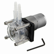 цена на 12V/24V stepper motor washing machine anti-corrosion peristaltic pump power 10W to send 1m pipe