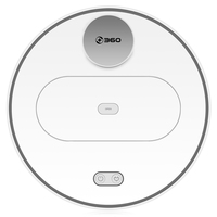 360 S6 Robotic Vacuum Cleaner Automatic Remote Control Cleaning Robot White Sweeping Dust Sterilize Vacuum Cleaner EU Plug