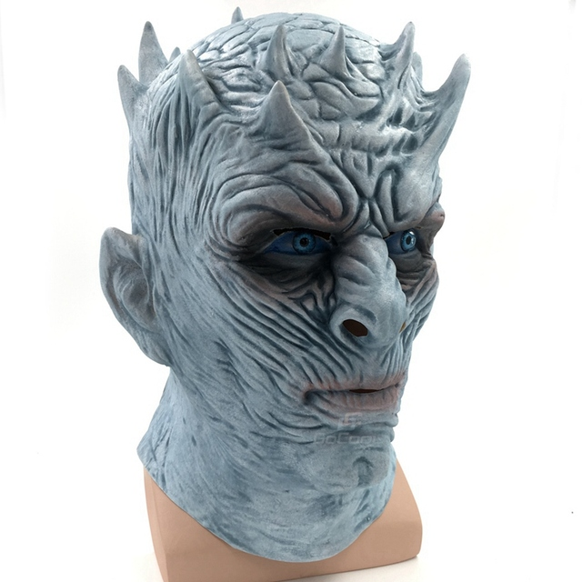Night King Walker Face Latex Mask 1