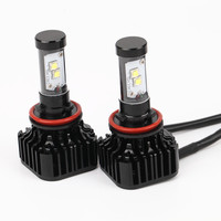 2016 New 1 Pair 80W 8000LM CREE Chips LED H11 Headlight Kit Low Beam Bulbs