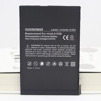 ISUNOO 5pcs/lot Genuine 5124mAh good quality battery For iPad mini 4 mini4 Battery Replacement tablet A1550 A1538 Battery