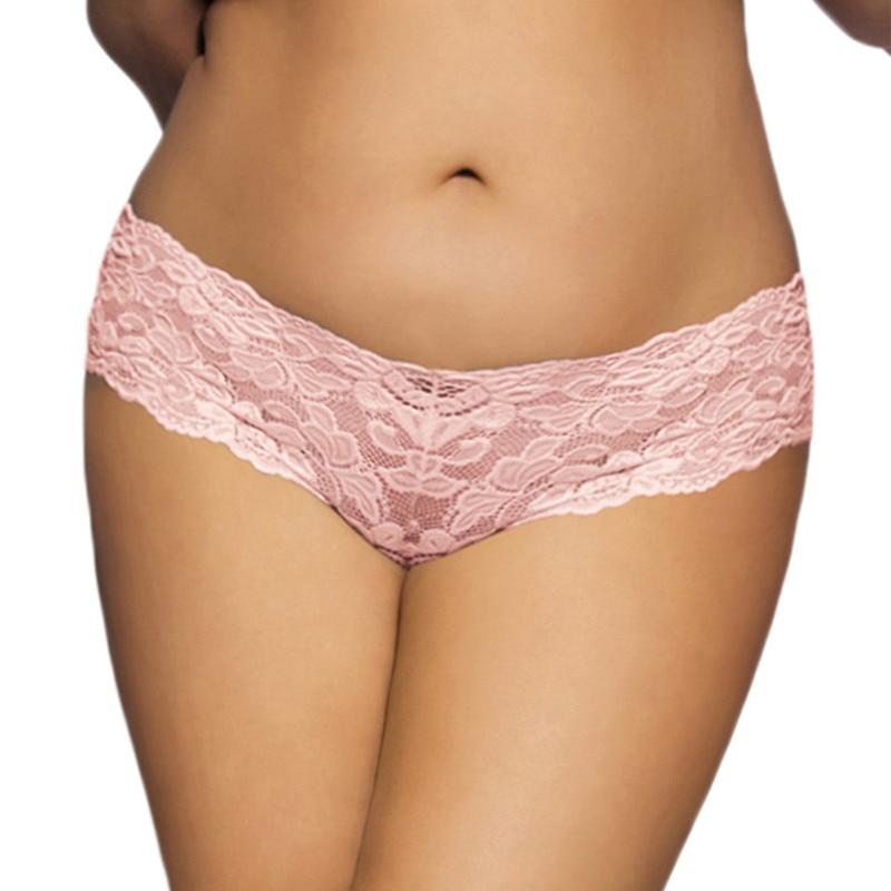 Slip en dentelle grande taille très sexy de haute qualité 4