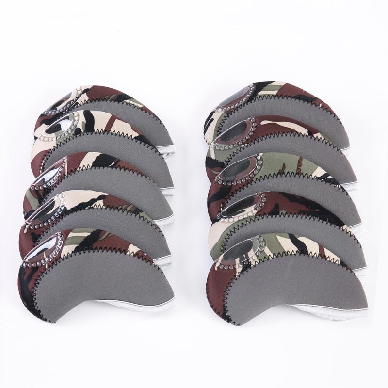 Golf Clubs Iron Headcover Multicolor