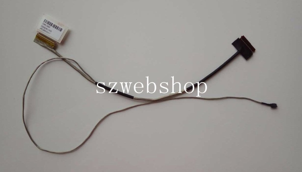New for HP Pavilion 15-AU series laptop LCD Cable G34LC600 DD0G34LC600 JPC3BSD6201 40pins laptop new original black for hp for touchsmart xt 15 15 4000ea series lcd top cover