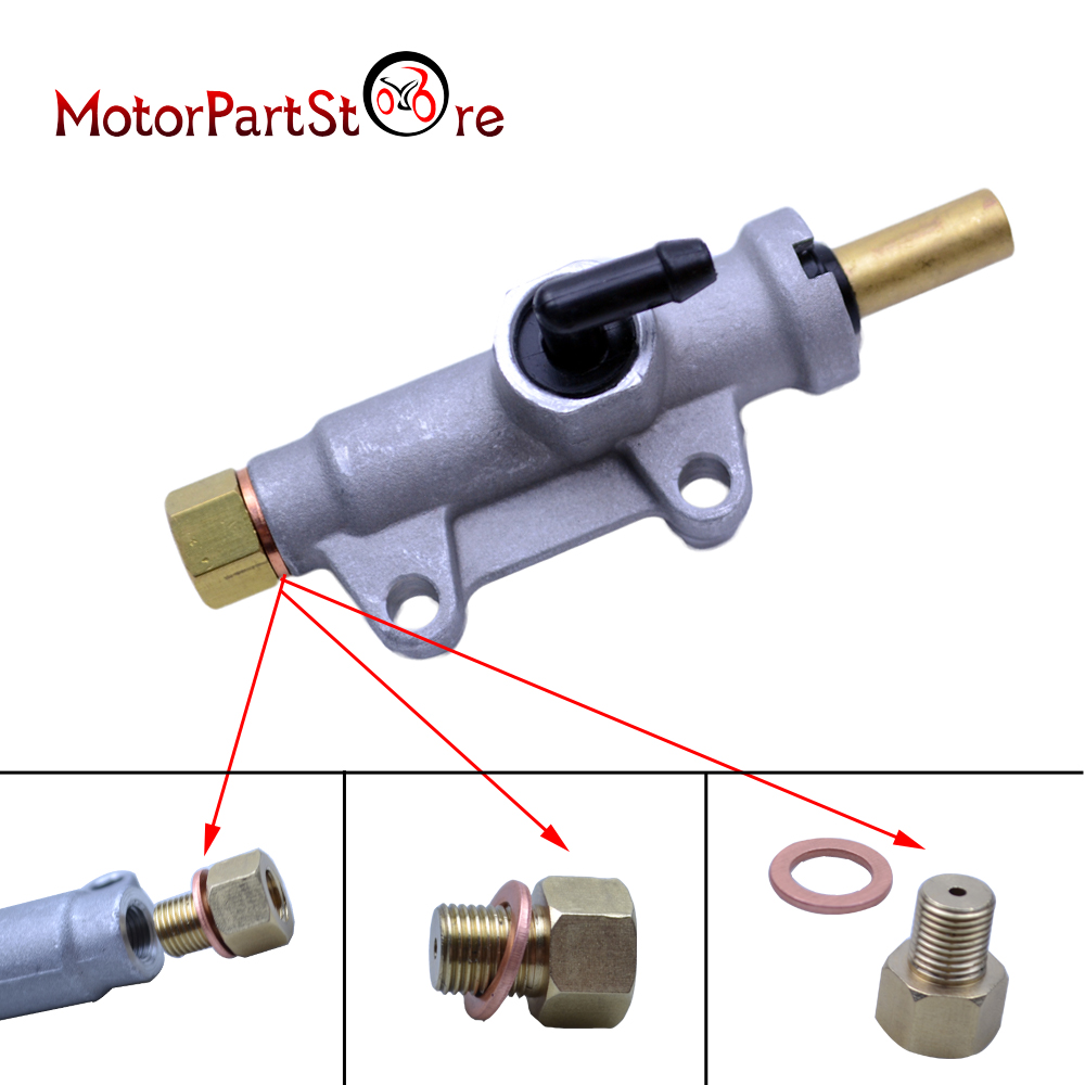 Motorcycle Rear Brake Master Cylinder for Polaris Trail Boss 325 330 ATV  Quad Dirt Pit Bike Motocross Part @20-in Levers, Ropes & Cables from  Automobiles ...
