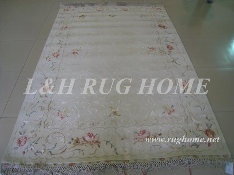 Bezmaksas piegāde 1.75X2.7M 160Line ar rokām mezglots persiešu - Mājas tekstils