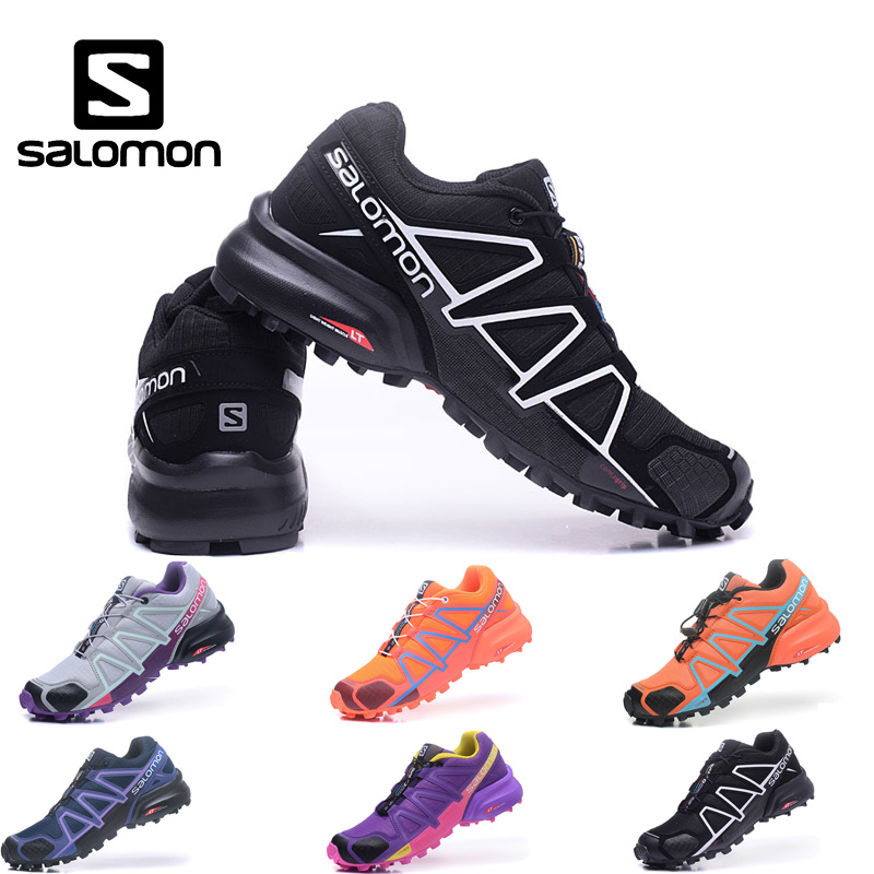 Salomon Speedcross 4 Women's Shoes High Quality Breathable Speed Cross Mujer Zapatillas Female Outdoor Sports Running Shoes