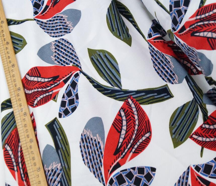 Leaves simple design D + Home Fabric international online fashion - Arts, Crafts and Sewing - Photo 3