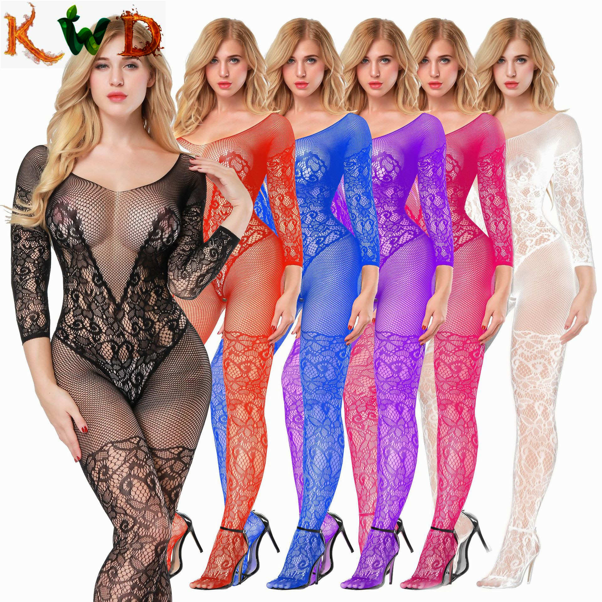 KWD Women Transparent Sexy Lingerie For Sexy Catsuit Sexy Costumes Erotic Underwear Hot Lingerie Erotic-lingerie