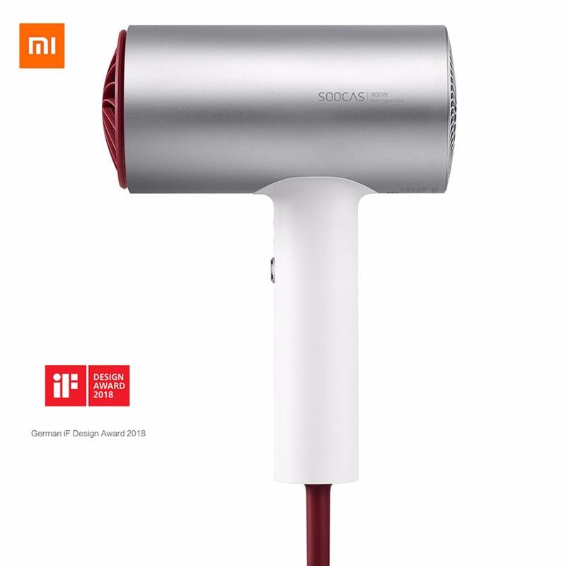 2018 neue Xiaomi Soocare Soocas H3 Anion Haar Trockner Aluminium Legierung Körper 1800 watt Air Outlet Anti-Heiße Innovative diversion Design