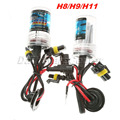 2Pcs 12V 35W H8/H9/H11 Car Headlight Lamp Xenon HID Replacement Bulbs Automobile Light Source 3000/4300/5000/6000/8000/12000K