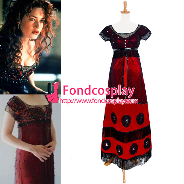 c422a8d77 € 118.73  Disfraz de Cosplay de película de Bukater Rosa Titanic en de en  AliExpress.com   Alibaba Group