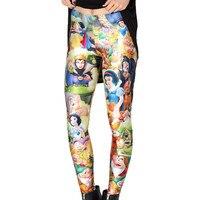 2017 Hot Sale New Printed Legging For Women Pants Slim Workout Leggings Fitness Legging Candy Color
