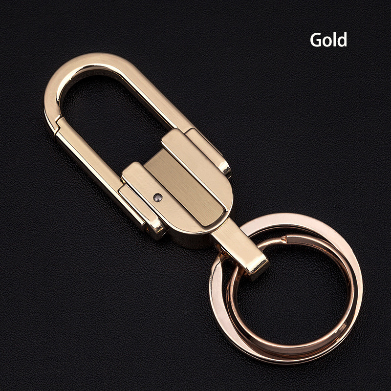 Auto Accessories Metal Keychain Car Key Ring for Toyota Camry 2018 Kia Optima K5 Opel Astra H Peugeot 206 Keychain for Business in Key Rings from Automobiles Motorcycles