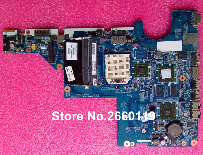 цена на laptop motherboard for HP 632184-001 DA0AX2MB6F0 DDR3 system mainboard, fully tested