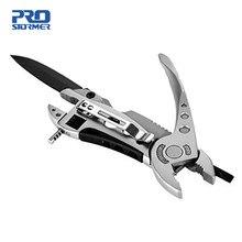 5 in 1 Zangen Tasche Messer Schraubendreher-set Kit Einstellbare Schlüssel Kiefer Spanner Reparatur Überleben Hand Multi Werkzeuge Zangen PROSTORMER