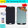 For Samsung Galaxy S4 LCD   i9500 i9505  L720 LCD Display with Touch Screen Digitizer  Blue  White + Tool  Free Shipping