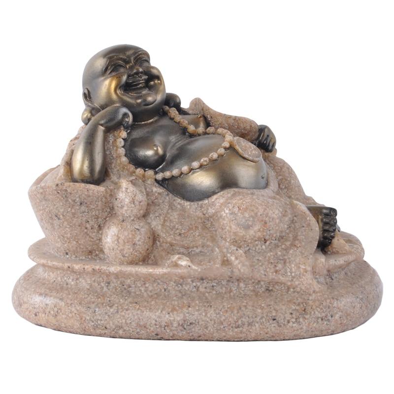 Aliexpress Com Buy Hot Buddha Statue For Desk Ornament Home Decoration Resinfigurines Crafts 8 Cm 12069